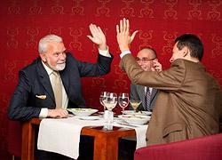 Выбор ресторана для деловой встречи