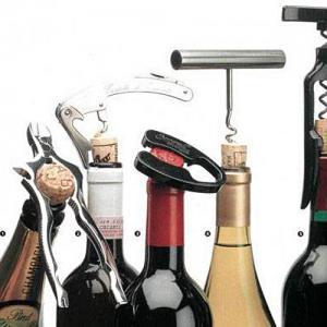 Алгоритм открытия винной бутылки