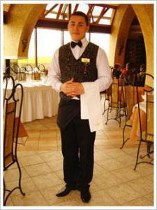 Официант, бармен, клиринговый рабочий