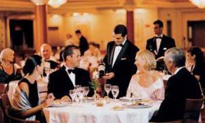 Несколько общих правил поведения в ресторане