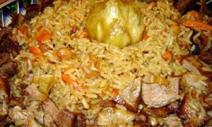 Основные блюда кавказской кухни
