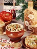 О русских кулинарных традициях, Русская кухня
